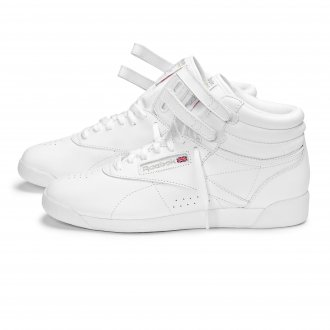 Reebok Snow Ladies Hi Tops White/Silver