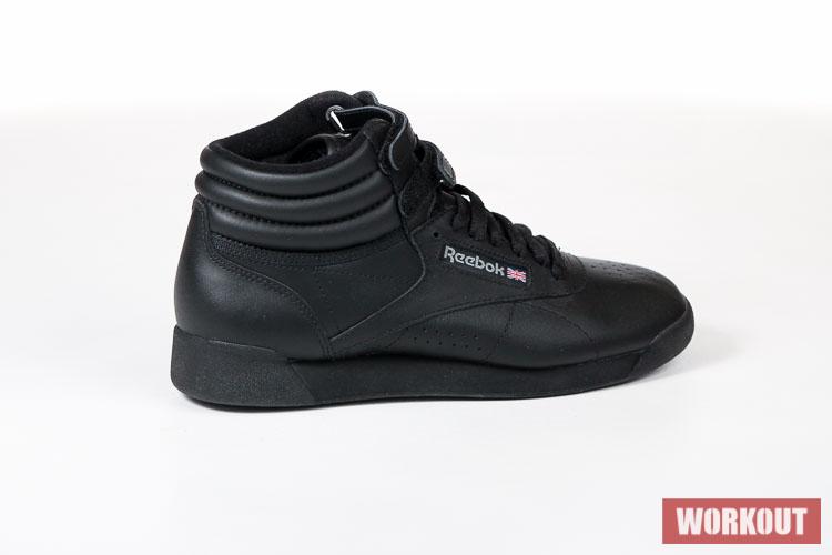 Značkové dámské produkty Reebok Dámské černé boty na aerobik F S HI 2240.  Prodávaly se pod kódem 2240. Tento produkt již nemáme v nabídce e73c9fadfe